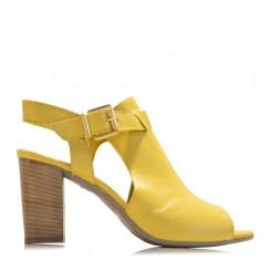 Sandalo open toe in nappa