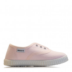 Slip-on in tela rosa