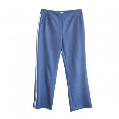 Pantalone con banda in paillettes