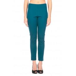 Pantalone elasticizzato con zip laterale