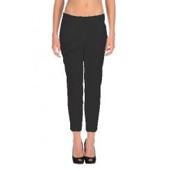 Pantalone in cotone con ricamo