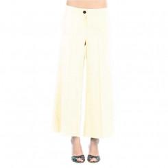 Pantalone gaucho in misto lino
