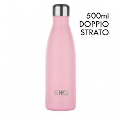 SHO BOTTLE ORIGINAL 2.0 - PASTEL PINK - 500 ml