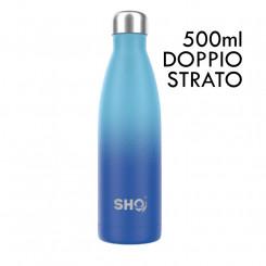 SHO Bottle Original 2.0 - Deux Bleu - 500 ml