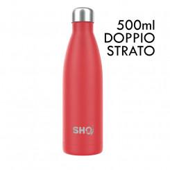 SHO Bottle Original 2.0 - Volcanic Red - 500 ml