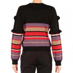 Maglione girocollo con lurex
