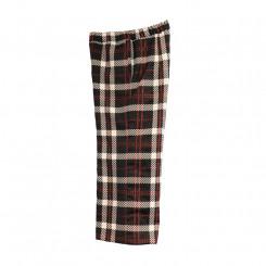 Pantalone gaucho stampa tartan