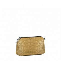 Travel pouch small luna gold